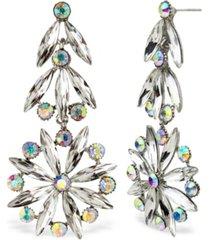 statement accessories retro stone statement earrings