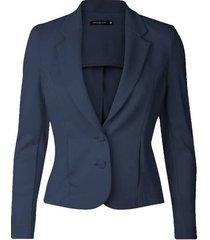 freequent blauwe blazer nanni-ja