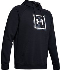 sweater under armour rival fleece printed hoodie 1345636-001