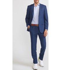 traje business rayas azul trial