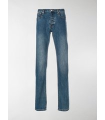 a.p.c. low-rise straight-fit jeans