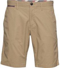 brooklyn short light twill shorts chinos shorts beige tommy hilfiger