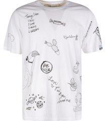 golden goose adamo doodle regular t-shirt