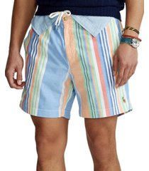 polo ralph lauren men's 6-inch polo prepster striped shorts