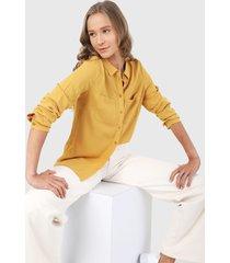 camisa mostaza ambiance