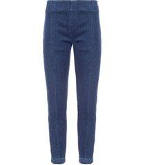 calça feminina paula jegging frizzo - azul