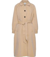 2nd amalie trenchcoat lange jas beige 2ndday