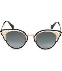 dhelia 48mm cat eye sunglasses