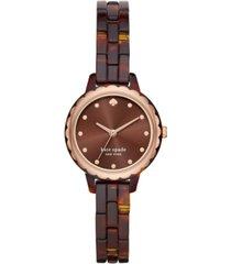 kate spade new york women's mini morningside acetate bracelet watch 28mm