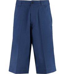 kenzo cotton bermuda shorts