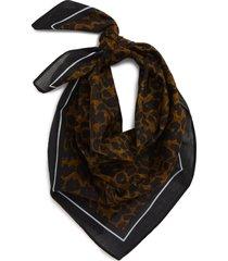 women's bp. animal print square scarf