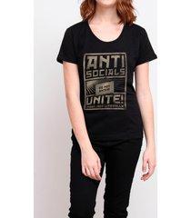 camiseta antisocials unite