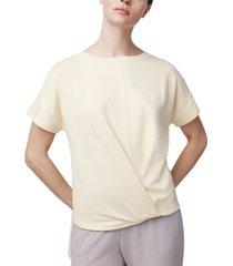 b new york twist-front t-shirt