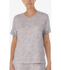 dkny sleepwear printed pajama top