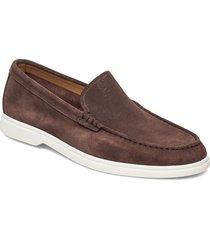 sienne_mocc_sd loafers låga skor brun boss