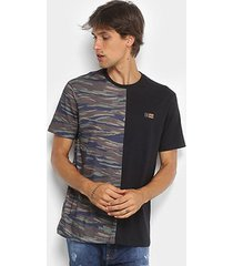 camiseta mcd especial duo camouflage masculina
