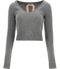 n.21 cropped sweater