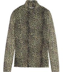 blouse jungle leopard