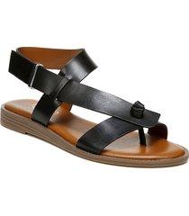 women's franco sarto glenni sandal, size 10 m - black
