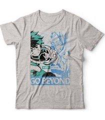 camiseta boku no hero - unissex