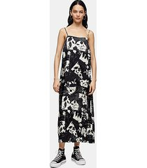 *printed slip dress by topshop boutique - multi