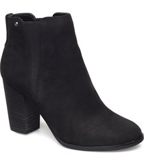 pessa shoes boots ankle boots ankle boots with heel svart aldo
