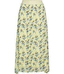 gula knälång kjol multi/mönstrad custommade