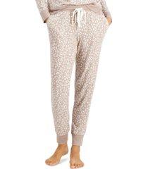 alfani printed hacci pajama jogger pants, created for macy's