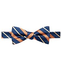 1905 collection dual-stripe pre-tie bow tie clearance