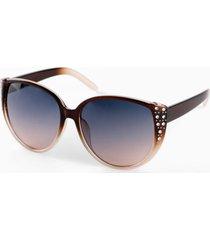 occhiali da sole con cristalli (marrone) - bpc bonprix collection