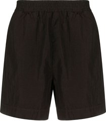 1017 alyx 9sm mid-rise swim shorts - brown