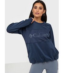 columbia windgates fleece crew sweatshirts