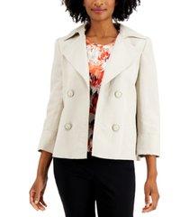 kasper faux-double-breasted jacket