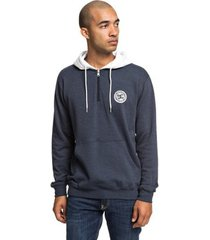 sweater dc shoes rebel half-zip hoodie