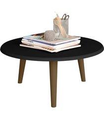 mesa de centro brilhante preto fosco móveis bechara