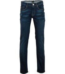 vanguard v7 rider jeans donkerblauw