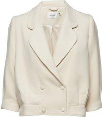 alucca jacket ms19 blazer kavaj vit gestuz