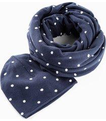 sciarpa ad anello e berretto (set 2 pezzi) (blu) - bpc bonprix collection