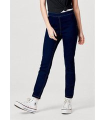 calça jeans feminina modelagem jegging com elastano - feminino