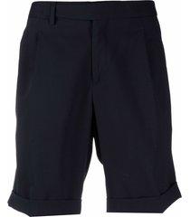 briglia 1949 straight-leg bermuda shorts - blue