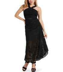 guess adira embroidered maxi dress