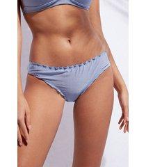 calzedonia swimsuit bottom formentera woman light blue size 5