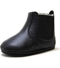 botinha botina sapatotop shoes bebe preta