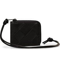bottega veneta braided wallet