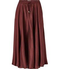 kjol della satin skirt