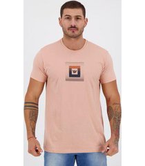 camiseta hang loose silk loggy rosa - masculino