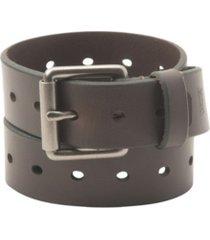 levi's perf bridle men's belt