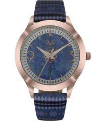 reloj azul 19v69 italia