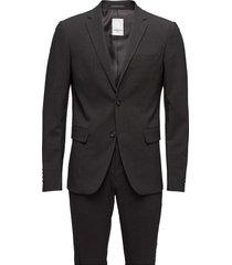 plain mens suit kostym grå lindbergh