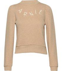 juno college sweat-shirt trui roze arnie says
